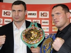 Бій Кличко проти Сосновського відбудеться в строк