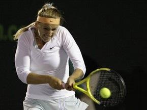 Азаренко - во втором раунде турнира в Марбелье