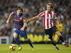 Примера: Барселона и Чигринский разгромили Атлетик, Реал переиграл Расинг