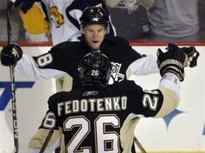 NHL: Федотенко и Поникаровский помогли Пингвинам разгромить Филадельфию