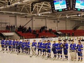 U-18: Україна розгромила Бельгію в стартовому матчі ЧС з хокею