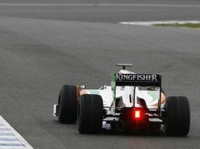 Сутиль показал лучшее время на первой практике Гран-при Бахрейна