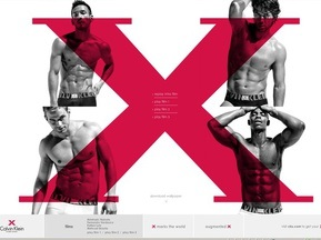 Вердаско и Наката снялись в рекламе нижнего белья Calvin Klein