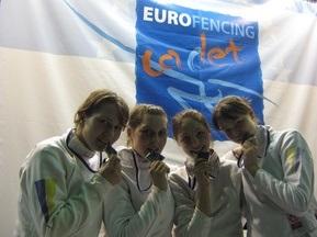 Фехтование: Украинки завоевали серебро Чемпионата Европы среди кадетов
