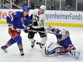 NHL: Питтсбург в овертайме дожал Рейнджерс