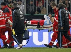 Баллак сломал скулу защитнику сборной Аргентины