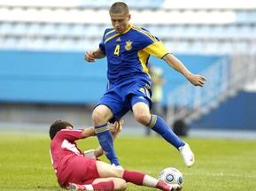 Украинская молодежка расписывает ничью с Кипром