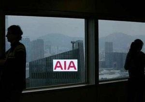 Азиатское подразделение AIG продано за $25 млрд британскому страховщику