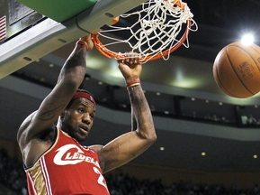 NBA: Кливленд громит Бостон