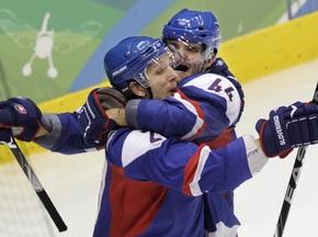 Хоккей: Словакия становится последним полуфиналистом