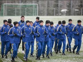 Украинская молодежка начинает подготовку к матчу с Кипром
