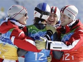 Прыжки с трамплина: Австрийцы взяли командное золото