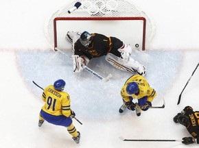 Хоккей: Швеция обыграла осторожных немцев