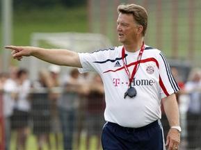 Ван Гал: Я был бы доволен победой со счетом 1:0