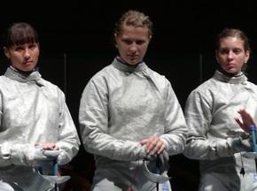 Украинки выиграли бронзу на Московской сабле