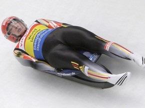 Санный спорт: Лидер второго заезда - Татьяна Хюфнер, украинки - во второй десятке