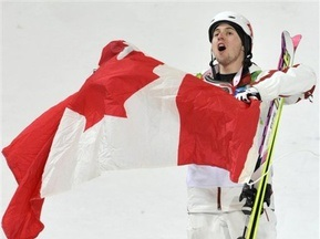 Канада ликует. Александр Билодо побеждает в могуле