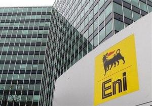 Прибыль ENI снизилась почти в два раза