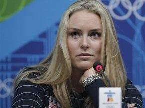 Фаворитка Олимпиады-2010 рискует стать зрительницей