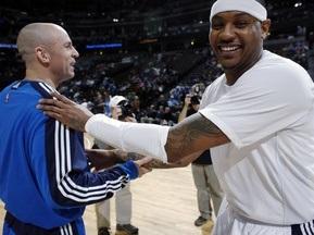 NBA: Кармело и Ко сокрушают Даллас