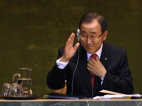 ООН призывает прекратить все военные конфликты на время Олимпиады