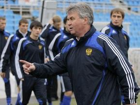 Хиддинк останется в сборной России до лета