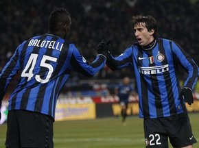 Кубок Италии: Интер победил Фиорентину в первом полуфинальном матче