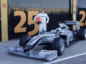 Шумахер не рассчитывает на победы со старта сезона