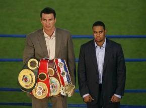Букмекеры ставят на Кличко в бою с Чемберсом