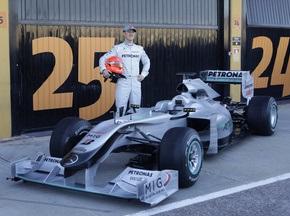 Команда Mercedes представила болид 2010-го года