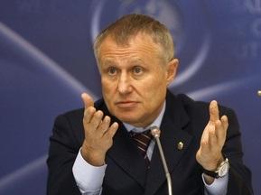 Суркис: Перед сборной будет стоять задача выиграть Евро-2012