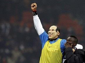 Матерацци получил желтую карточку за пародирование Берлускони