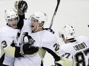 NHL: Питтсбург вырвал победу у Филадельфии