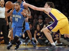 NBA: Лейкерс вновь сильнее Орландо