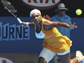 Australian Open: Серена Уильямс легко преодолела первый раунд