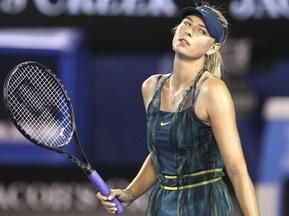 Australian Open: Шарапова вилетіла вже у перший день