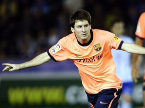 Месси забил сотый гол за Барселону