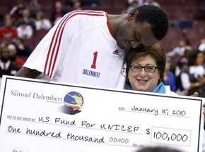 NBA: Филадельфия побеждает Сакраменто, Далемберт делает доброе дело