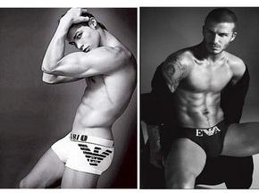 Роналдо сменил Бекхэма в рекламе нижнего белья Armani