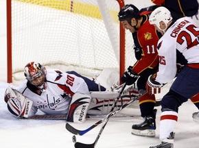 NHL: Вашингтон вырывает победу у Флориды