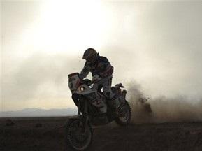 Дакар-2010: Лопес выиграл пятый этап у мотоциклистов