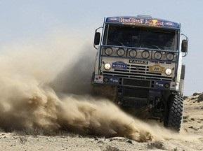 Дакар-2010: Чагин выиграл второй этап в классе грузовиков