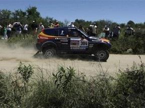 Дакар-2010: Рома выиграл первый этап в зачете автомобилей