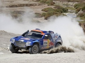 Дакар-2010: На седьмом этапе в классе автомобилей победил Аль-Аттия
