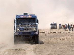 Дакар-2010: Кабіров святкував перемогу на п ятому етапі у класі вантажівок