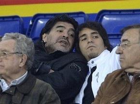 Марадона хочет открыть собственный телеканал