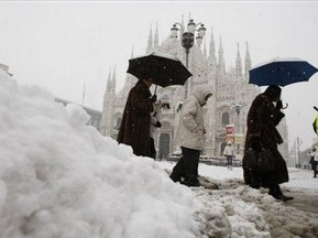 Матч Удинезе - Кальяри перенесен из-за сильных снегопадов