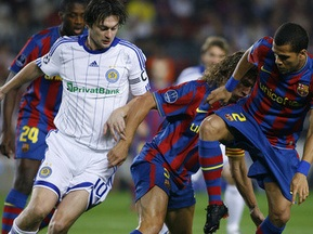 Букмекери ставлять на Барселону в матчі з Динамо