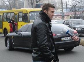 Шевченко назвали виновным в ДТП
