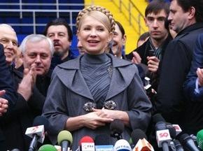 Тимошенко: Коли на матчі з являються Ющенко і Янукович - чекай невдачі